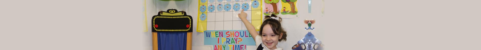 Young Girl teaching
